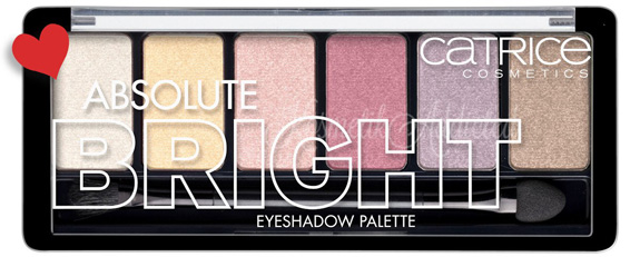 Catrice Absolute Bright Eyeshadow Palette 010 Candy Warhol