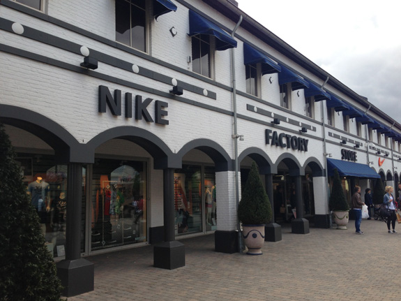 Designer Outlet Roermond Nike