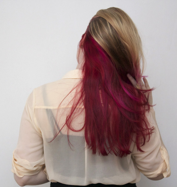 Mijn roze dip dye bloglovin - Hoe roze verf ...