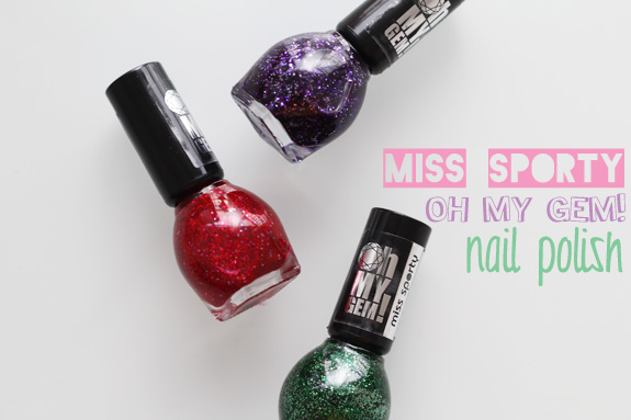 Miss Sporty oh my Gem Nail