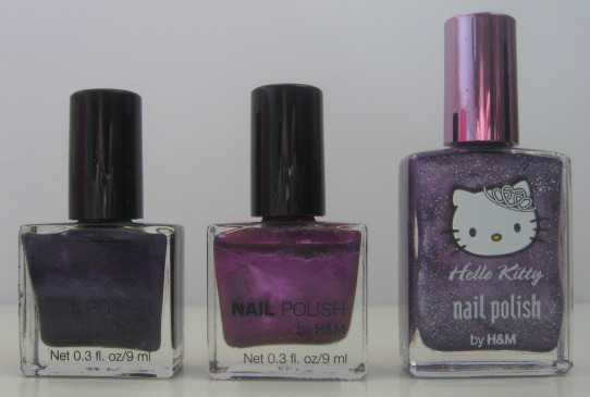 H&M_Nailpolishes
