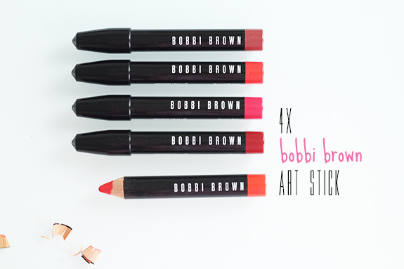 bobbi_brown_art_stick_rose_brown_sunset_orange_electric_pink_cassis01