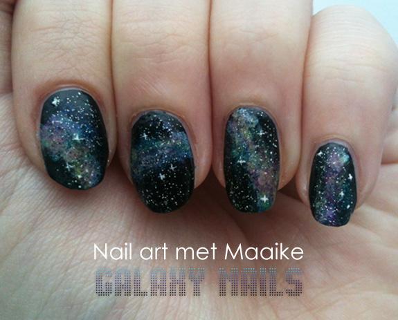 Veracamilla Nail Art Met Maaike Galaxy Nails